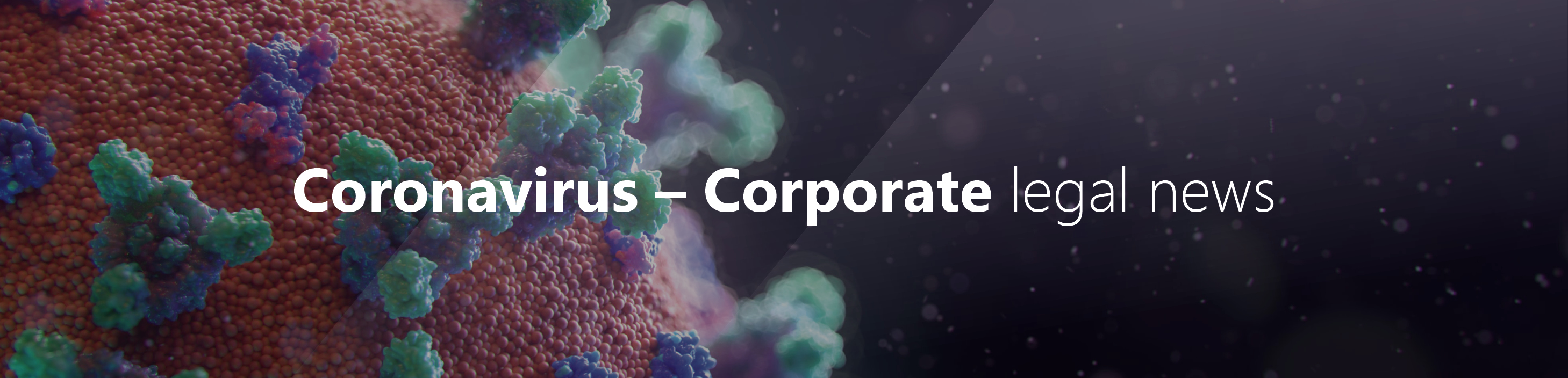 Coronavirus corporate and commercial law