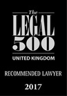 Uk recommended lawyer 2017