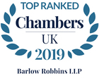 Chambers leading firm personalised 2019