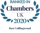 Chambers top ranked 2020 ben collingwood