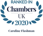 Chambers top ranked 2020 caroline flashman