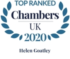 Chambers top ranked 2020 helen goatley