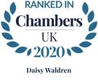Chambers top ranked 2020 daisy waldren