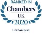 Chambers top ranked 2020 gordon reid