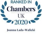 Chambers top ranked 2020 joanna lada walicki