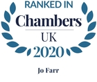 Chambers top ranked 2020 jo farr