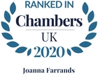 Chambers top ranked 2020 joanna farrands