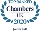 Chambers top ranked 2020 judith ball